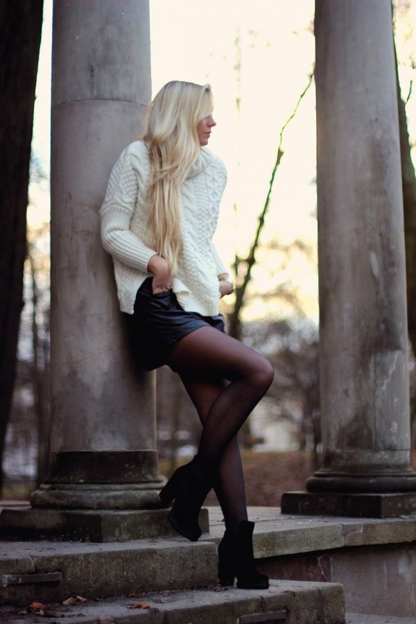 fanny staaf sweater shorts shoes