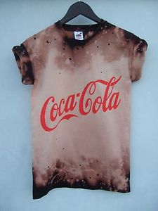 DIP Dye Ombre Astral Tie Galaxy T Shirt Top Coke Logo Coca Cola Grunge | eBay