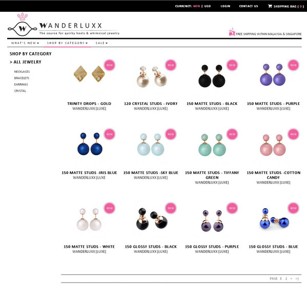jewels studs pearl colorful dior fabulous