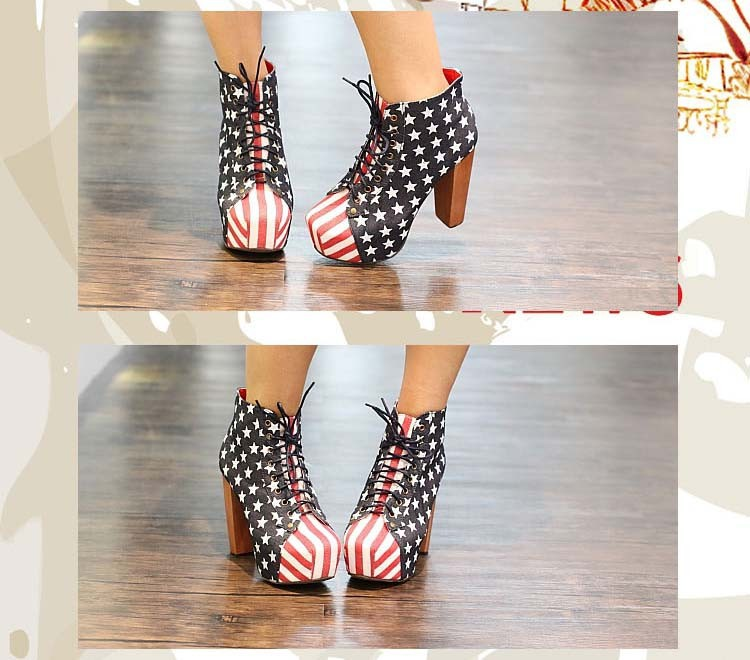 2013 jeffrey campbell fashion high heel platform ankle motorcycle boots for women, martin boots and woman winter shoes #Y10003H-in Boots from Shoes on Aliexpress.com