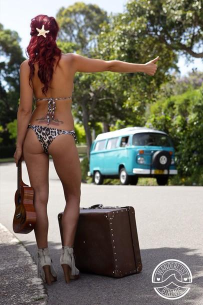 swimwear brazilian bikini bottom wanderlust bikini string bikini print print bikini animal print leopard print brazilian bikini bikini