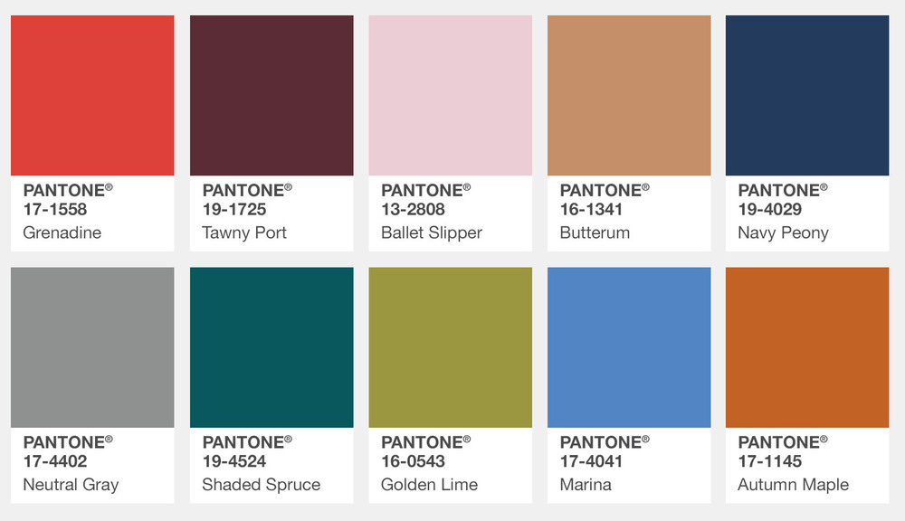 Pantone Fashion Color Report Fall 2017 Outfits Wheretoget
