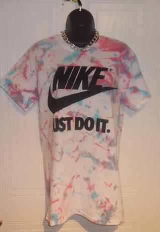 unisex customised adidas grunge acid wash tie dye t shirt SM   mysticclothing   ASOS Marketplace