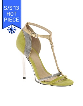 ASOS | ASOS HALLOW Suede High Heel Sandals at ASOS