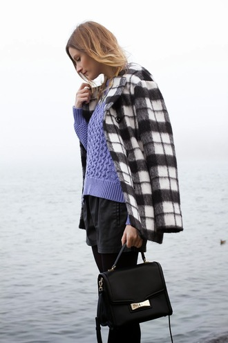 styling my life sweater coat shorts bag jewels shoes