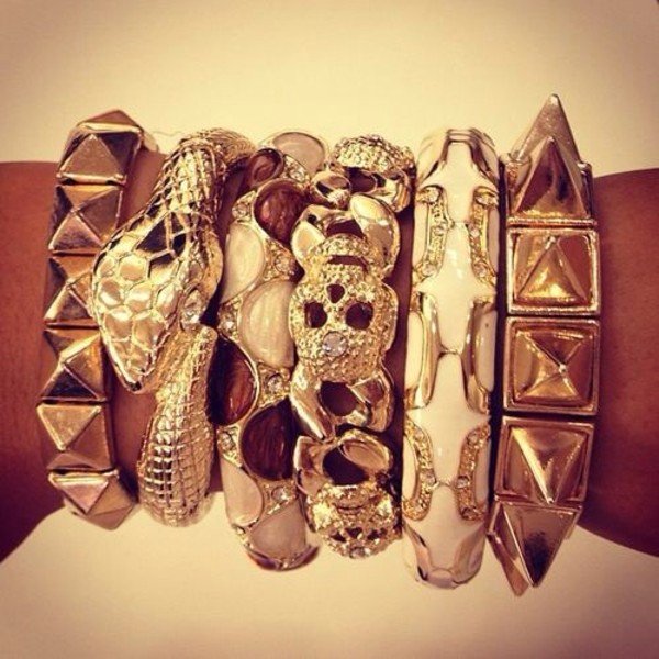 jewels gold bracelet