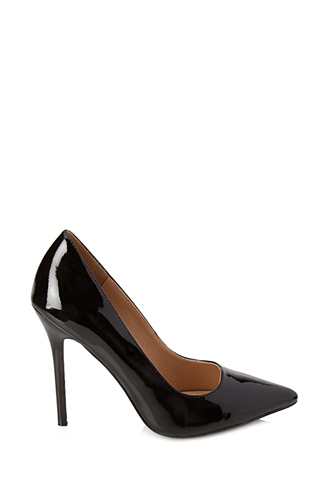 Classic Patent Pumps   FOREVER21 - 2000059224