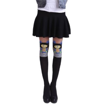 HDE Sexy Fashion Design Pattern Pantyhose Stockings Tights (Baby Bear Mock Thigh Highs): Amazon.co.uk: Clothing