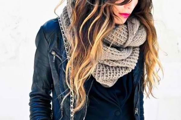 scarf clothes fashion jacket