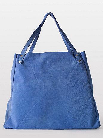 L'Epicier Suede Leather Bag   American Apparel