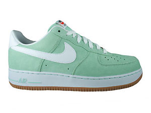 New Mens Nike Air Force 1 Low Basketball Shoes Trainers Casual Arctic Green | eBay