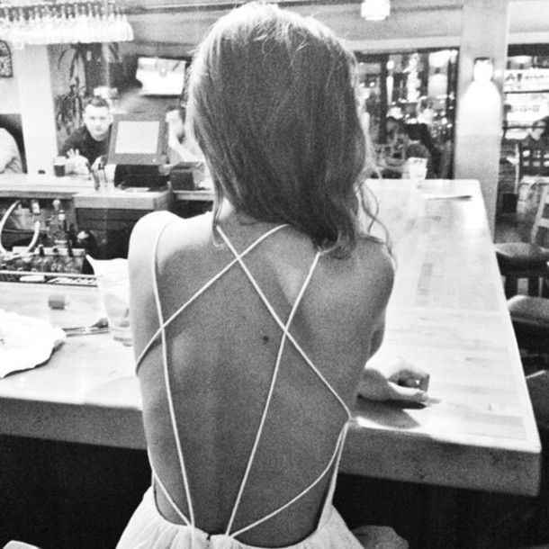 dress clothes dress white dress white backless strappy strappy dress