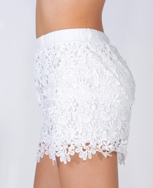 Connie Vintage Lace Shorts   Outfit Made