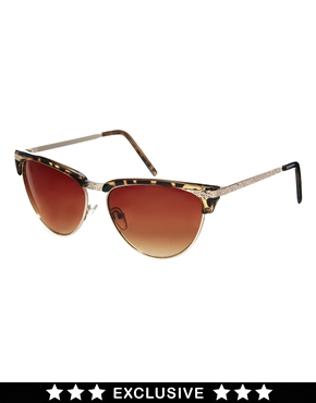Jeepers Peepers | Jeepers Peepers Exclusive to Asos Cateye Metal Sunglasses at ASOS
