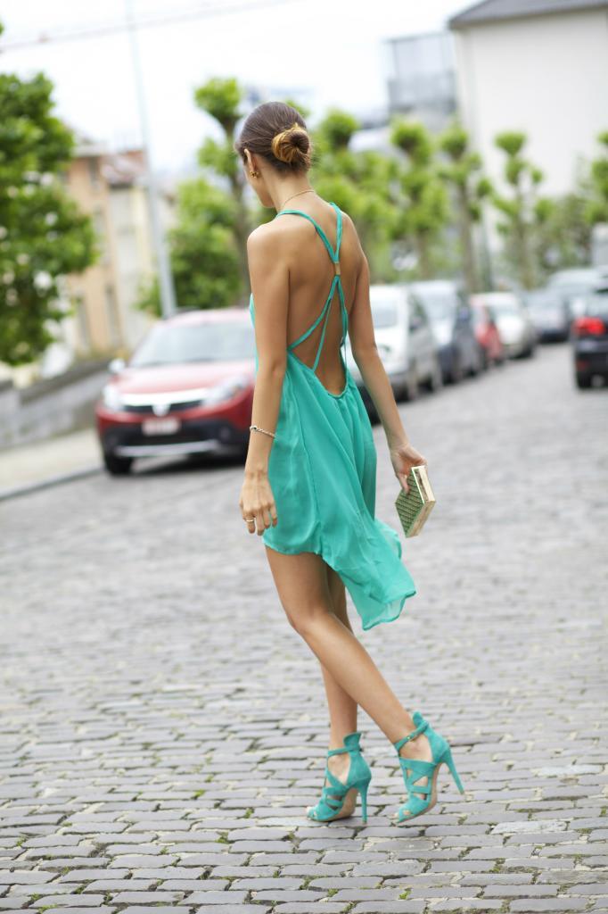 Hot Sale Strap Chiffon Dress$33