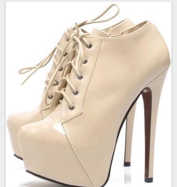 shoes heels platform high heels