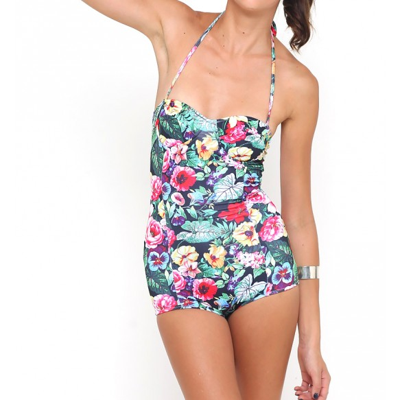 Floral Swimsuit at Style Moi