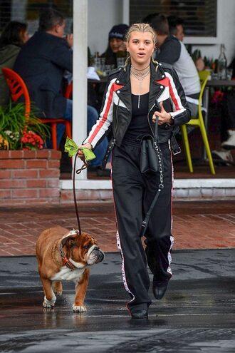 jacket pants sofia richie streetstyle