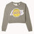 Los Angeles Lakers™ Cropped Sweatshirt on Wanelo