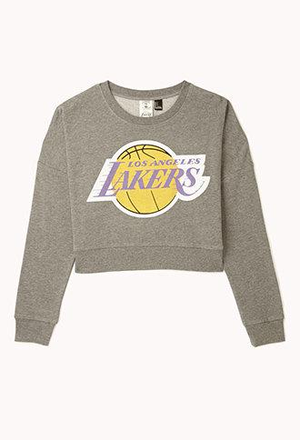 Los Angeles Lakers™ Cropped Sweatshirt on Wanelo