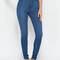 Perfectly basic high-waisted jeans blue dkblue - gojane.com