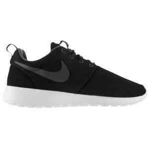 Nike Roshe Run - Women's - Running - Shoes - Black/Summit White/Volt/Dark Armory Blue