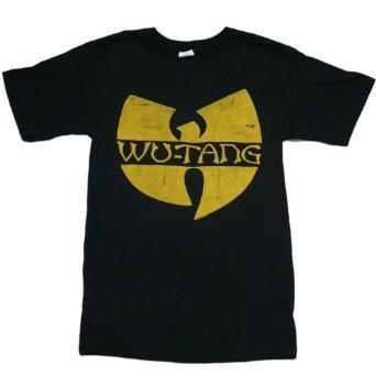 Amazon.com: Wu Tang Clan - Classic Yellow Logo T-Shirt Size XL: Clothing