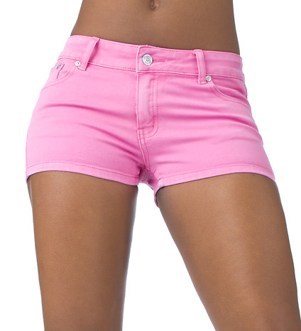 ESSENTIALS Shorts and Skirts Pink SUPER STRETCH SHORT - Jeans and Dresses - Man Alive