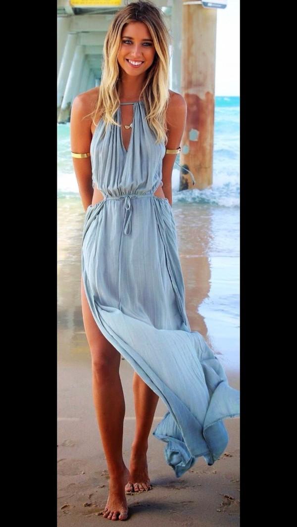 swimwear grey dress grey