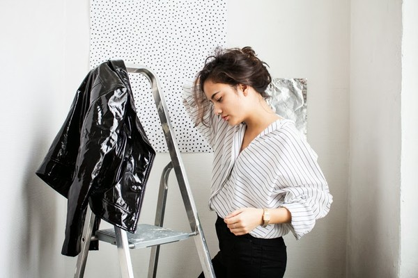 gladys doris dave blouse jacket jeans