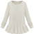 ROMWE   Cable Knitted Long Sleeves White Jumper, The Latest Street Fashion