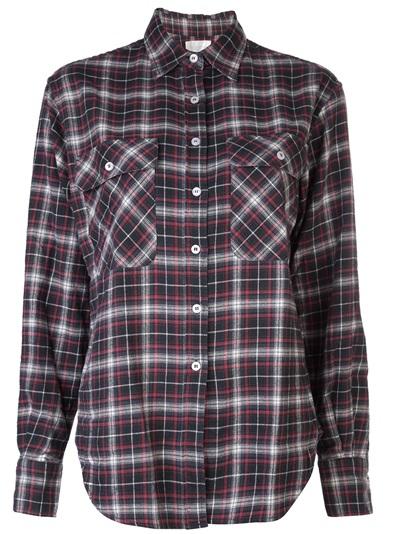R13 Plaid Flannel Shirt - The Parliament - Farfetch.com
