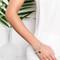 Tess and tricia sea lotus flower wrap bracelet