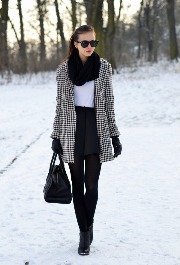 vogue haus t-shirt skirt coat shoes bag sunglasses