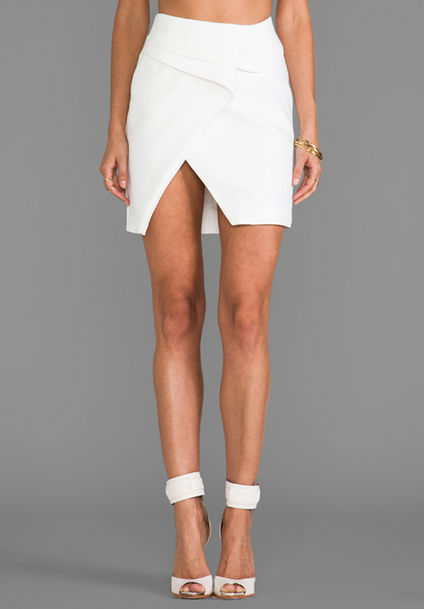 FINDERS KEEPERS For You Skirt in White at Revolve Clothing - Free Shipping!