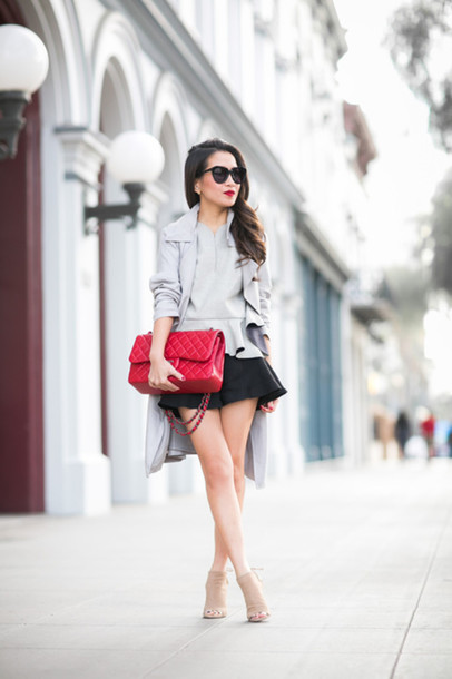 wendy's lookbook blogger top coat shoes bag jewels sunglasses
