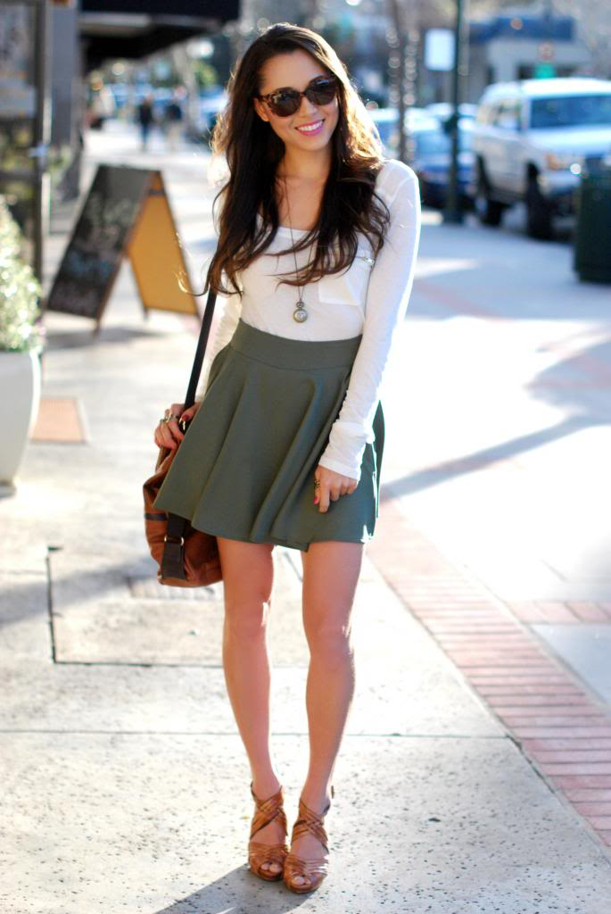 Hapa Time - a California fashion blog by Jessica - new fashion style - 2013 fashion trends: Olive You Not