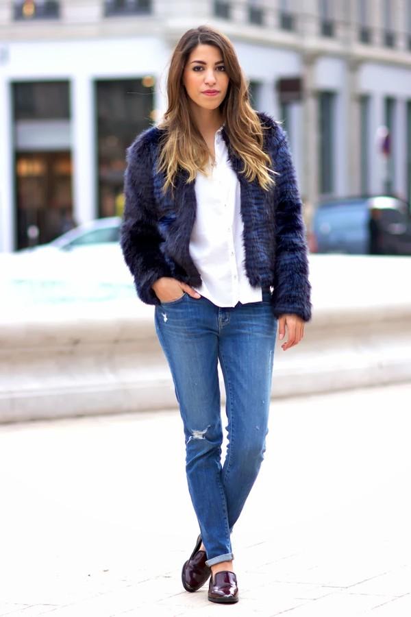 fadela mecheri jacket shirt jeans