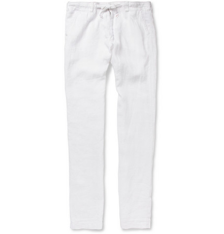 Hartford Troy Relaxed-Fit Linen Trousers | MR PORTER