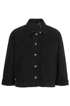 Black Denim Shirt by Boutique - Boutique  - Clothing  - Topshop