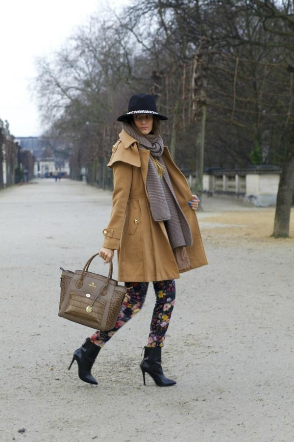from brussels with love coat pants sweater shoes scarf hat bag