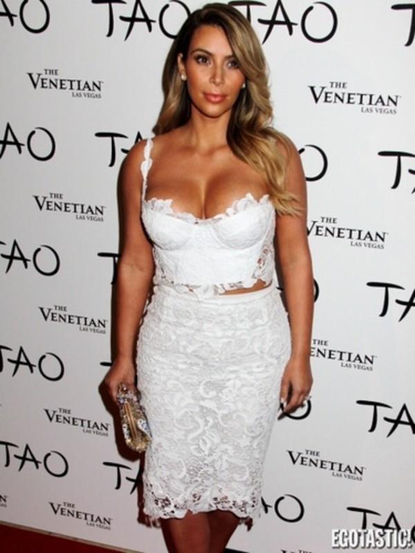 dress kim kardashian lace dress