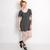 POP Pop Boutique Navy Grace Swing Dress | ARK