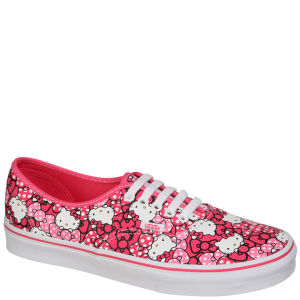 Vans Authentic Hello Kitty Trainers - Morning Glory/Hot Pink Clothing - FREE UK Delivery