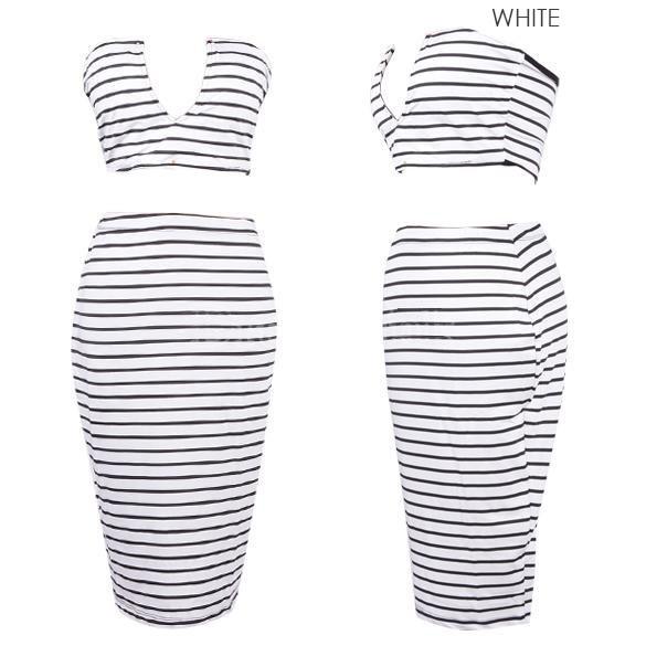 Lina Vee Crop Top Skirt Set   Outfit Made