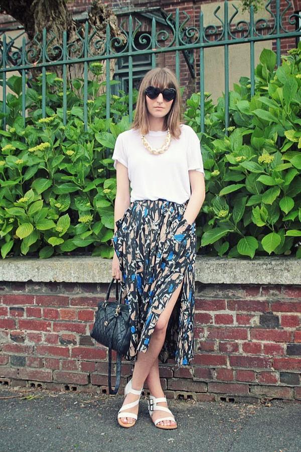 summer crush sunglasses jewels shoes top skirt bag