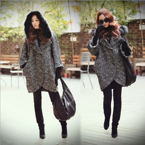 coat i4out jacket trench coat cape clothes desginer oversized cardigan dress trendy lookbook look