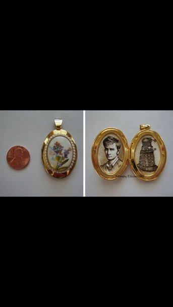 jewels pendant doctor who locket
