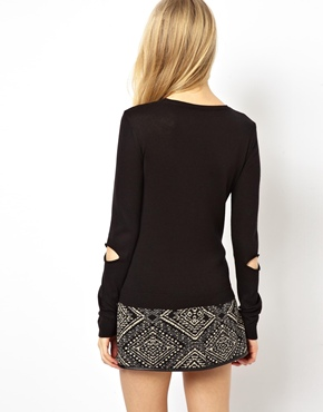 ASOS | ASOS Jumper With Cut Out Front at ASOS