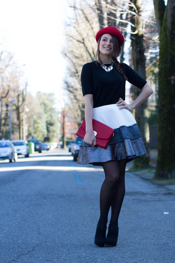 style and trouble jewels shoes bag skirt sweater